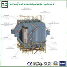 Espacio amplio del tratamiento electrostático lateral del horno de colector-inducción