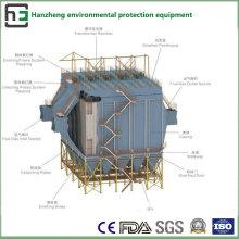 Широкое пространство обработки боковых электростатических коллекторно-индукционных печей