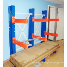 CE Certifactecar cantilever pallet rack with steel beams for car accessories and storage warehouse/galvanized