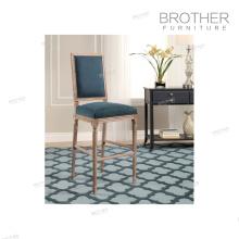 Chaise de bar en tissu de style nordique de style américain