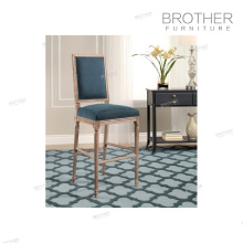 Американский Стиль Нордический мода роскошные ткани барный стул