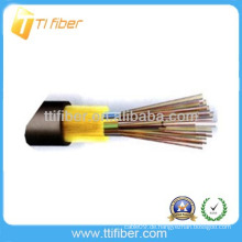 Nichtmetallische Stärke Nicht gepanzertes GYFTA53 Außenfaserkabel