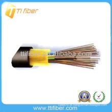 Força não metálica não-blindado GYFTA53 cabo de fibra exterior
