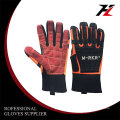 Micro fiber mechanic coated garden gloves