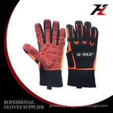 Micro fiber mechanic construction gloves