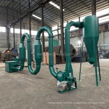 High hot airflow speed big drying capacity 6 type 5.5kw sawdust dryer