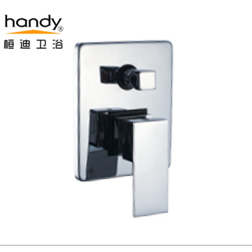 Kuningan Chrome Disepuh Bathroom Square Menangani Bath Mixer