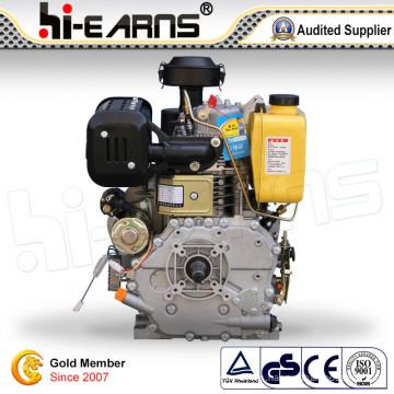 Motor diesel enfriado por aire con eje de chavetero (HR192FB)