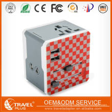 2017 LongRich World Travel Charger AU EU US UK Multi Plug universal travel adapter