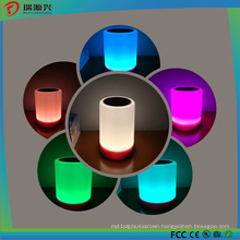 Smart Touchable Bluetooth Speaker with LED Lights