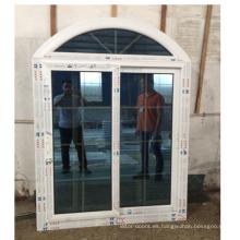 Ventana corredera de pvc de diseño arqueado 30 años de garantía ventana corredera de pvc