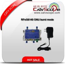 Rfog6140 ONU Burst Mode Récepteur optique bidirectionnel / Mini fibre Optical Node