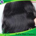 7A высший сорт Индийского Девы волос Remy человеческих волос уток
