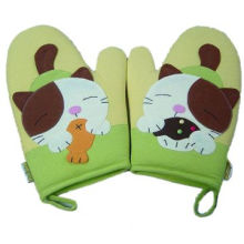 Durable Oven Part/Gloves with Nice Design, Suitable for Promotional PurposesNew