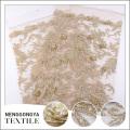 Oem polyester broderie cristal perlé or dentelle tissu pour robe