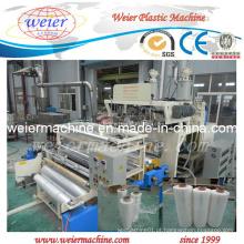 Máquinas de extrusão de película plástica CE PE Strech (embalagem)