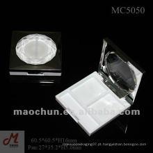 MC5050 Square Blush caixa recipiente cosmético vazio