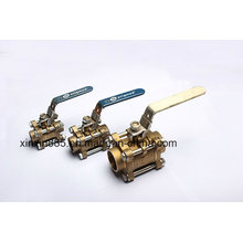 3 PCS Ball Valve with Lockable Handle