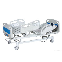 Krankenhaus-Halbfowler-Patientenbett mit ABS-Kopfteilen