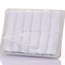 Toalla de aviación desechable de algodón 100% super barato Descuento Toalla de aviación desechable de algodón 100% super barato