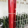 PVC beschichtete geschweißten Maschenzaun 2D 3D Curvy schweißte Zaunfabrik schweißte Drahtzaun