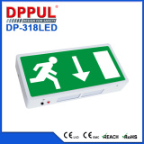 With 3.6V back battery Reachargeable IP20 Rating and Emergency lighting exit signs