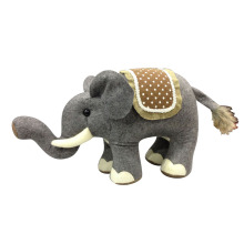 Christmas door stopper with cute elephant shape