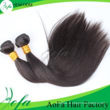 Extensão de cabelo virgem Natural de alta qualidade cabelo Remy