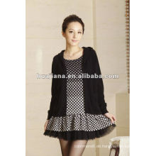 stilvolle Damen Kaschmir-Pullover Kleid