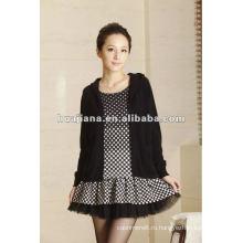стильные женские кашемировый свитер платье