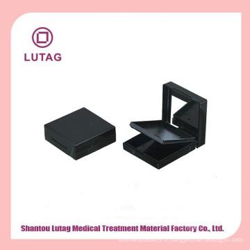 Emballage de fard à joues blush cosmétique emballage carré