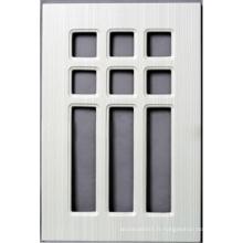 Porte de placard de cuisine de PVC (HLPVC-6)