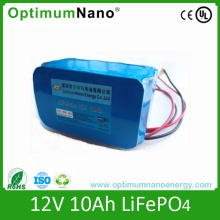 Ultralife 12V 10ah Lithium Ion Battery for LED Light