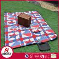 Cobertor de piquenique ao ar livre à prova de moda de lã polar novo design elegante