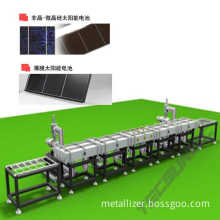 Manufacturing line for a-Si PV solar cell