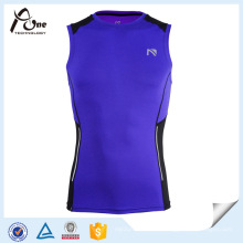 Vente en gros Custom Design Athlete Compression Running Singlet