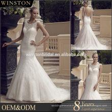 Vente en gros de nouveaux modèles de robes courtes de mariage de pays