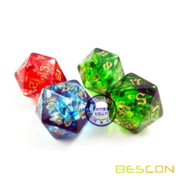 Novelty Nebulous Dice for DND Game