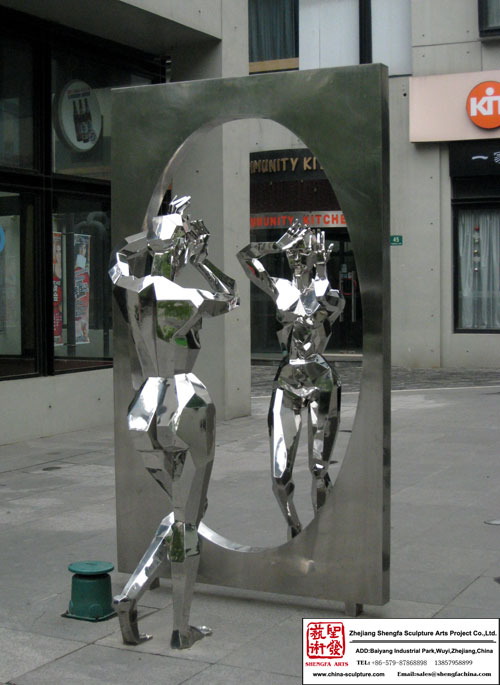 Customer Art Stainless Steel Sculpture