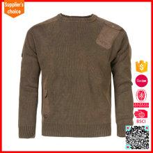 Nuevos uniformes militares formales del diseño y lanas militares del suéter del ejército / suéter de acrílico