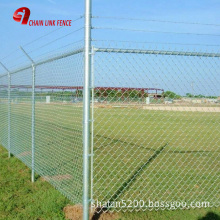 5 ft Metallic coatings for Hot Dipped Galvanized Chain Link Fence Fabrics for rural