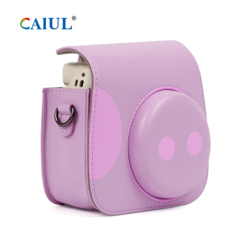 Adorável Porco Fujifilm instax Mini 9 Camera Case