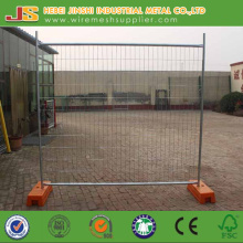 Galvanized Temporary Fence with Plastic Base Made in China