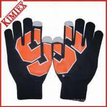 Popular Acrylic Knitted Magic Glove for Promotion
