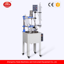 Corrosion Resistant Glass Reactor Science Lab Equipment