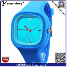 Yxl-982 New Fashion Brand Famous Silicone Sport Watch Quartz Casual Watch Style Women Dress Watch Jelly Wristwatch for Men Kids Lady