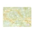 Haute qualité à sec Grain retour marbre PVC Lino tuile