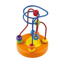 2016 Chegada Nova Kids Mini brinquedo de madeira Bead Maze