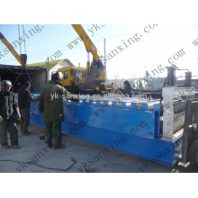 Glazed step tile roll forming machine/cold aluminium sheet rolling machine