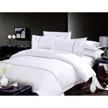 100% ägyptische Baumwolle gestickte Bettwäsche Bettwäsche Set und Tröster Set 800T